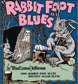Image result for BLIND lemon jefferson rabbit foot blues